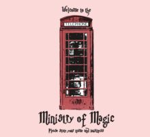 Welcome to the Ministry of Magic Baby Tee