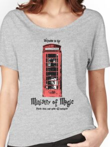 Welcome to the Ministry of Magic Women's Relaxed Fit T-Shirt