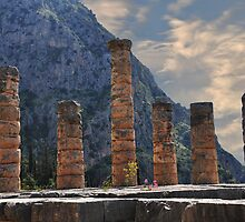 Temple of Apollo, Delphi by Peter Hammer