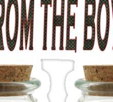 Men from the Boyz Sticker