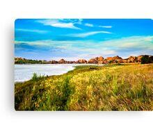WATSON LAKE. Canvas Print