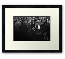Shot First, And Knows It. Framed Print