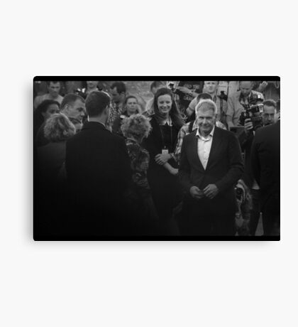 Shot First, And Knows It. Canvas Print