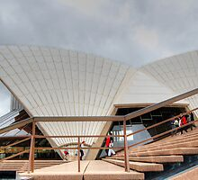 Opera House Stairs # 2 by Eve Parry