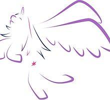 Twilight Sparkle Lineart V2 by MrLRG
