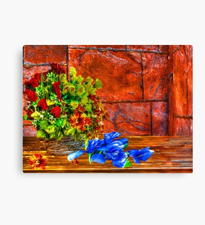 floral Still Life Canvas Print