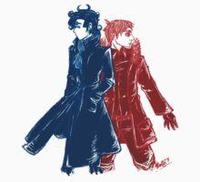 Sherlock & John by Sno-Oki