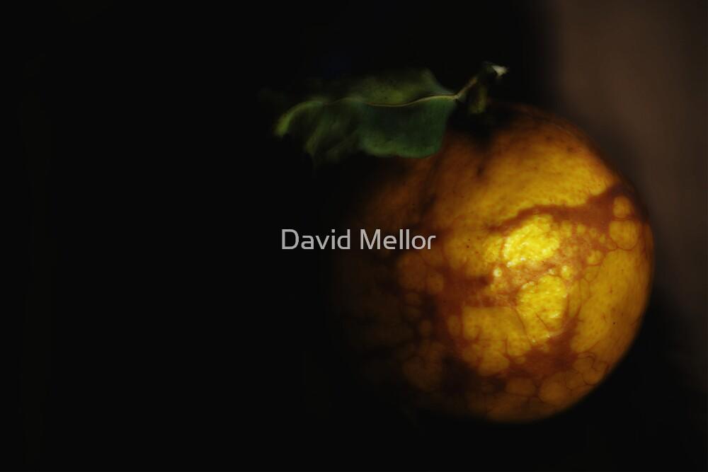 An orange glow by David Mellor