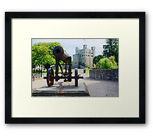 Rochester - Castle and Cannon Framed Print