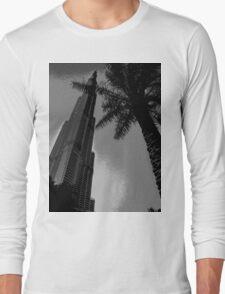 The Burj Khalifa Long Sleeve T-Shirt