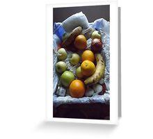 still life photo/fruit -(120811)- digital photograph Greeting Card