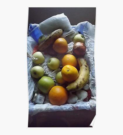 still life photo/fruit -(120811)- digital photograph Poster