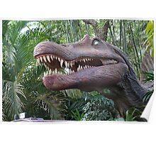 Spinosaurus Jurassic Park Poster