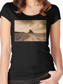 Shiprock Women's Fitted Scoop T-Shirt