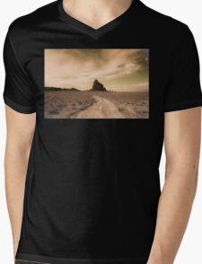 Shiprock Mens V-Neck T-Shirt