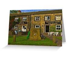 Wharfedale Tea Shop --Burnsall Greeting Card