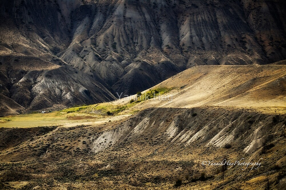 Ashcroft Badlands - British Columbia by Yannik Hay