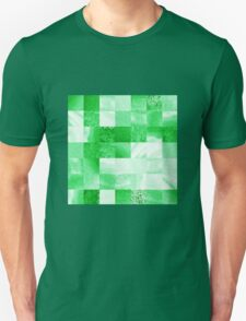Baby Green Marble Quilt IIi T-Shirt