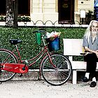 The Old Man's Bycycle - Hanoi, Vietnam by Cameron Christie
