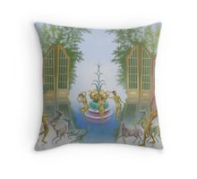A battle of music The Lost Contest Throw Pillow