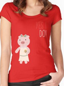 Yes I Do! - Bride Women's Fitted Scoop T-Shirt