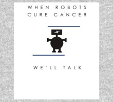 When Robots Cure Cancer (Airfix Democracies artwork) One Piece - Short Sleeve