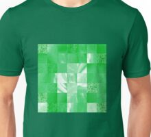 Baby Green Marble Quilt II Unisex T-Shirt