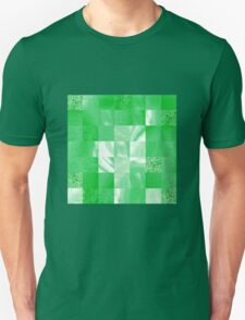 Baby Green Marble Quilt II T-Shirt