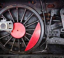 Train Wheel  by ccaetano