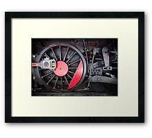 Train Wheel  Framed Print