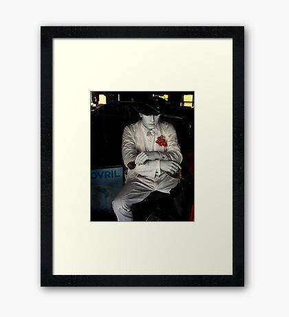 The Mannequin Framed Print