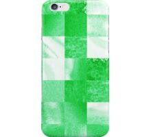 Baby Green Marble Quilt  iPhone Case/Skin