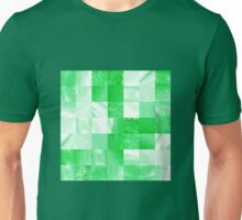 Baby Green Marble Quilt  Unisex T-Shirt