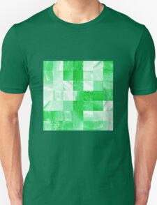 Baby Green Marble Quilt  T-Shirt