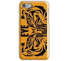 Eye of the tiger - Rocky Balboa iPhone Case/Skin