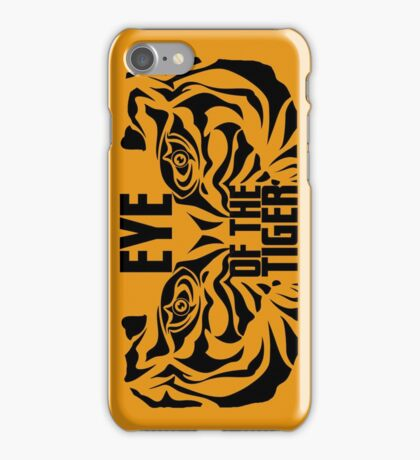 Eye of the tiger - Rocky Balboa iPhone Case/Skin