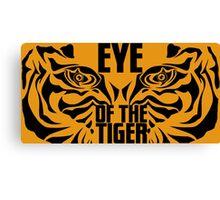 Eye of the tiger - Rocky Balboa Canvas Print