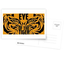 Eye of the tiger - Rocky Balboa Postcards