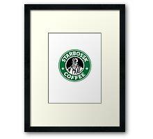 Star Bossk Coffee  Framed Print