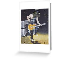 Slash1 Greeting Card