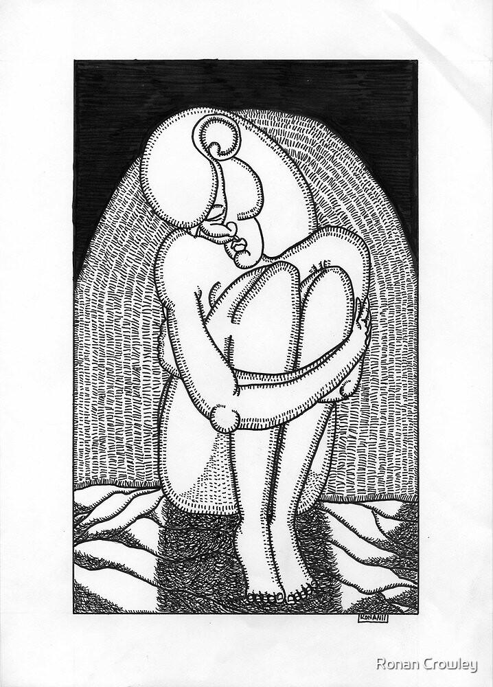 sad girl by Ronan Crowley