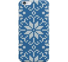 Knitted winter jacquard iPhone Case/Skin
