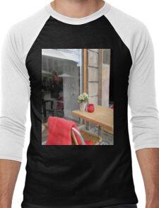 Small Table in Copenhagen Men's Baseball ¾ T-Shirt