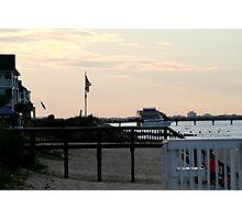 Ocean View Fishing Pier Photographic Print