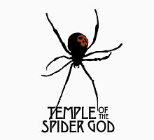 Temple of the Spider God (Black Spider) Unisex T-Shirt