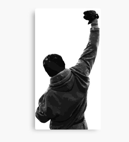 Never give UP! Rocky Balboa Canvas Print