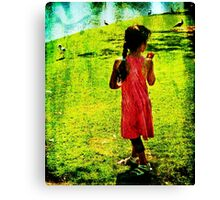 Just Another Day at the Park Canvas Print