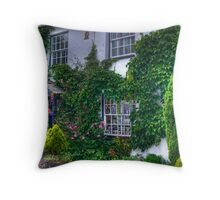Jam Jars & Ivy Throw Pillow
