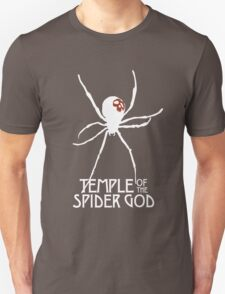 Temple of the Spider God (White Spider) T-Shirt