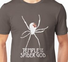 Temple of the Spider God (White Spider) Unisex T-Shirt